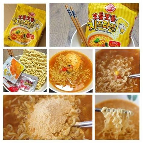 Ramen Keju ottogi cheese ramen noodle paket 4 pcs mie rasa keju yang lezat fast and cheap delivery deals