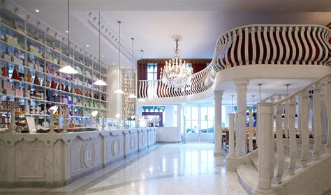 Bakery Interior Design Laduree Harrods London E M Tecnica Engineering