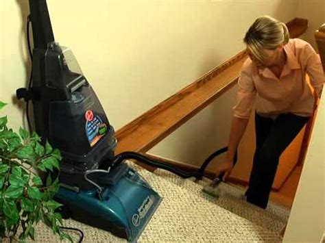 Hoover Steamvac Upholstery Attachment by Hoover Steamvac Cleaning Upholstery Carpeted Stairs F5915900