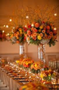 best 25 orange wedding centerpieces ideas on