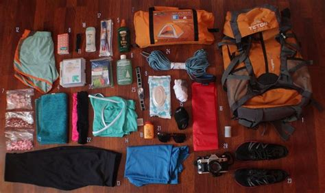 section hiker gear list sarah s appalachian trail gear list her backpack is not
