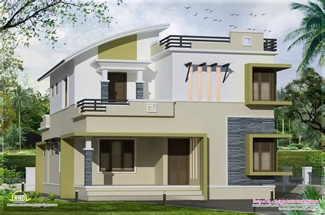 2400 square 2 floor house kerala home design and
