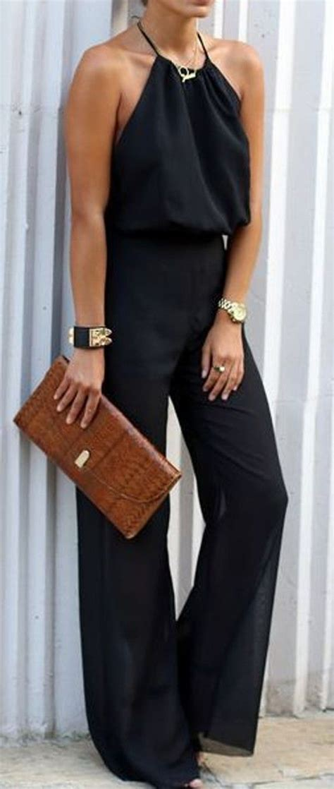 25 best ideas about black jumpsuit on black