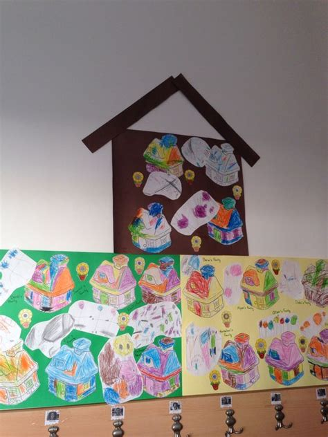 family themed crafts for family and house activity family theme preschool