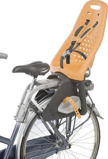 yepp maxi bike seat rack thule yepp maxi rear bike child carrier at rei