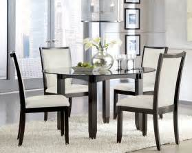 Glass Table Kitchen Glass Dinette Sets Goenoeng