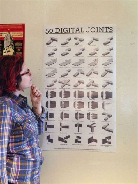 digital wood joints poster