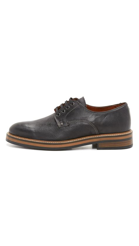 wolverine oxford shoes wolverine javier plain toe oxford shoes in black for