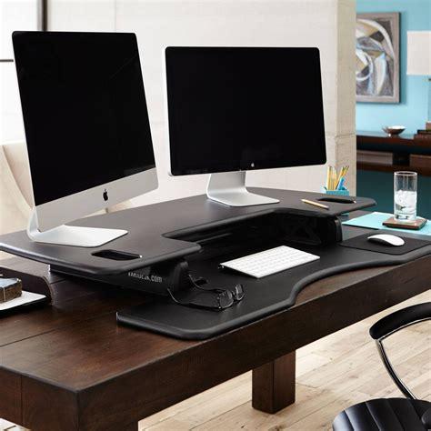 varidesk the adjustable height sit stand desk large sit stand desk pro plus 48 varidesk 174