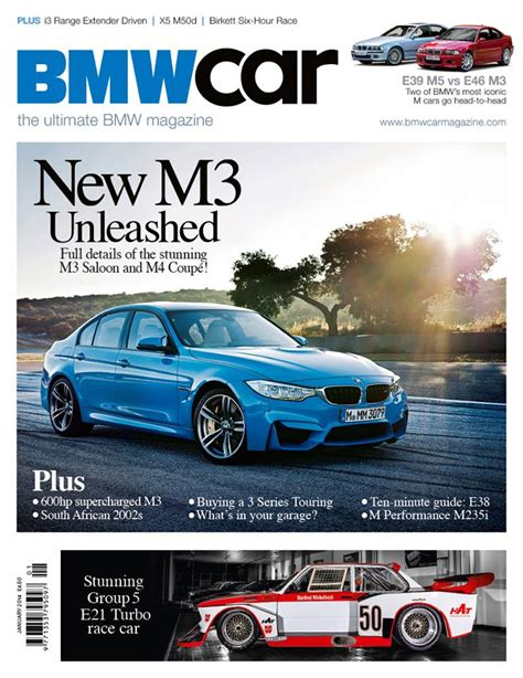 bmw magazine 2015 m3 featured on the cover of bmw car magazine