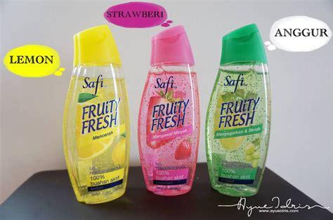 Pembersih Muka Safi safi fruity fresh pencuci wajah untuk gadis berumur 12