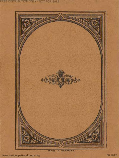 antique pattern library password apl 6 da023 album no 383 page 8