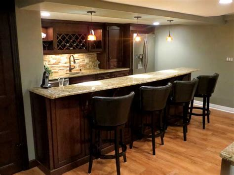 12 bar ideas for basement design and decorating ideas