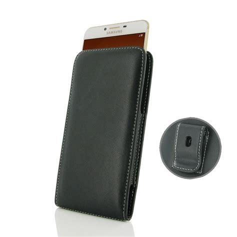 Samsung C9 Pro Sarung Leather Flip Cover Stand samsung galaxy c9 pro pouch with belt clip pdair flip wallet