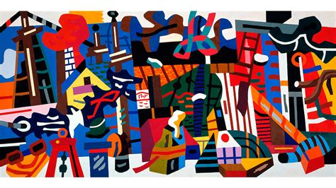 Modern Landscape by Stuart Davis In Full Swing Art In New York