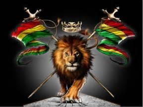 jah rastafari lion