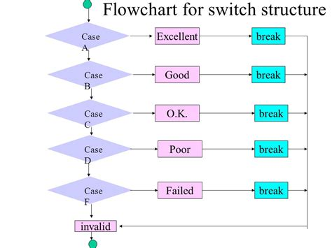 flowchart of switch in c flowchart switch best free home design idea