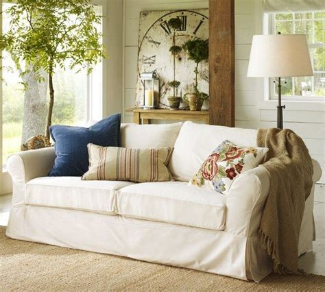 potterybarn living room sofas and living rooms ideas with a vintage touch from pottery barn freshome