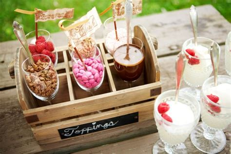 sundae bar topping ideas ice cream la vita bella events