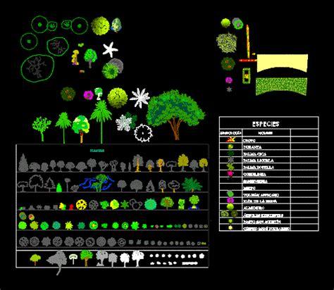 tree templates  dwg block  autocad designs cad