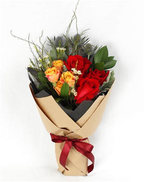 Floral Bouquets by R00 Freestyle Bouquet Floral Garage Singapore