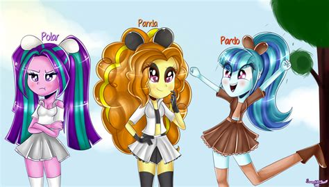 We Bare Dazzlings By Sweet Pillow On Deviantart