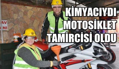 kimyaciydi motosiklet tamircisi oldu