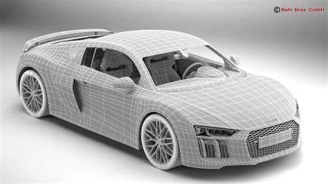 Audi R8 Model by Audi R8 V10 Plus 2016 3d Model Buy Audi R8 V10 Plus 2016