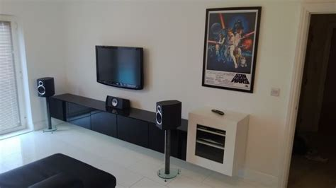wall mounted av cabinet pin by stanley sy on living room
