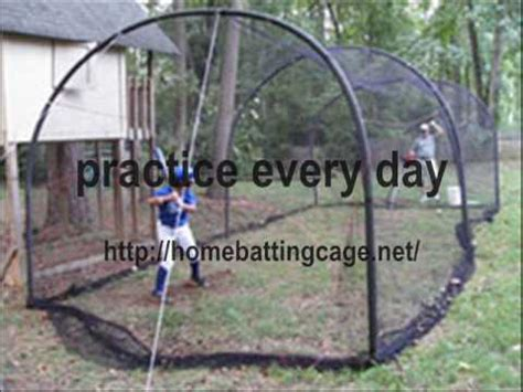 build a batting cage on a budget