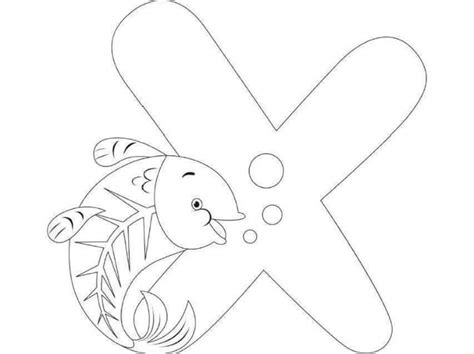 printable letter x coloring page free printable letter x coloring pages for kids 171 funnycrafts