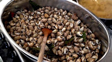 lumachine di mare come cucinarle videoricetta lumachine di mare