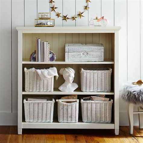 white beadboard bookcase beadboard 3 shelf bookcase pbteen