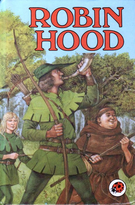 robin hood ladybird book classics series 740 first edition gloss hardback 1985