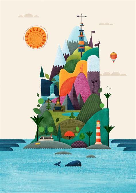 New Illustrations by New Zealand Design Yeah Brett King Illustration