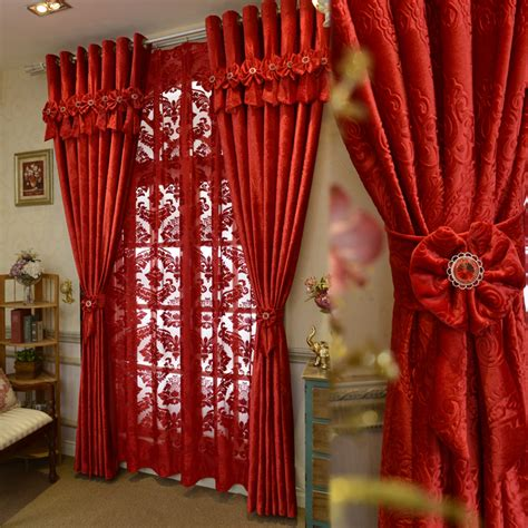 red living room curtains brand new custom made luxury italian wool curtains living