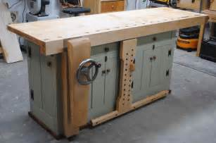 woodworking bench light woodworking unplugged bench build complete