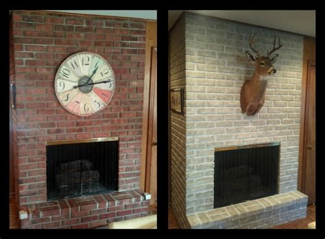 paint a brick fireplace fireplace design ideas