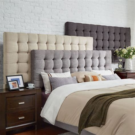 bed designs with cushioned headboard 25 best ideas about king size headboard on pinterest