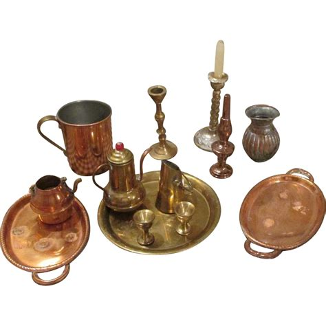 vintage items vintage and antique brass and copper doll items from
