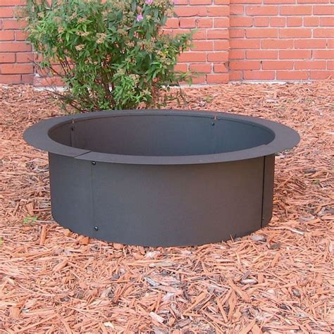 Firepit Liner Pit Liner Build Your Own Pit