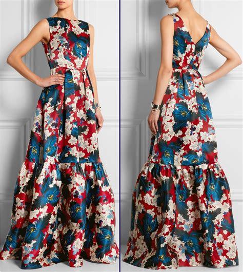 floral dress erdem