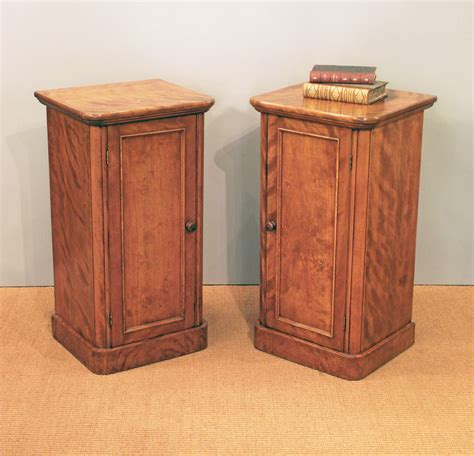 Sideboards Antique Pair Of Antique Bed Side Cabinets Antique Bedside Tables
