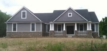 Ranch Craftsman House Plans great colors what is the paint siding color very interested
