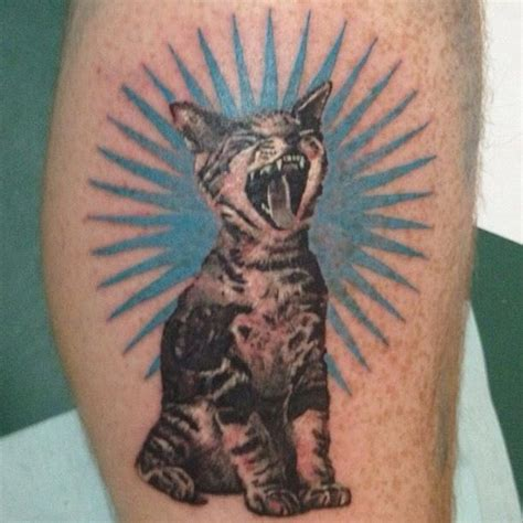 tattoo cat hole 28 tattoos inspired by your favorite bands
