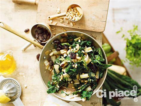 ricette bietole cucinare bietole bietole con uvetta e pinoli ci piace cucinare