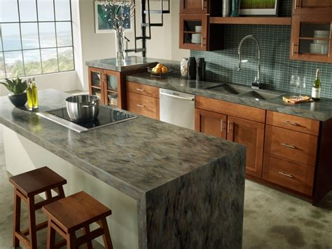 Best Countertops For Kitchens Countertop Materials Ideas Quartz Is The Material Of Choice Throughout Modern Kitchen Furniture