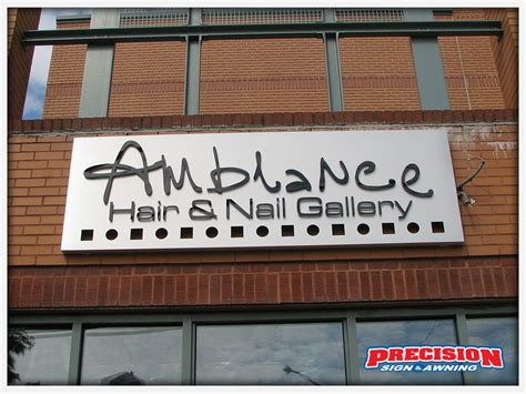 precision sign and awning custom sign design business signs by precision sign awning