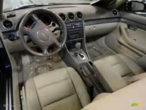 beige interior 2005 audi a4 3 0 quattro cabriolet photo