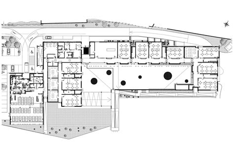 nursery school floor plan gallery of baillargues nursery school mdr architectes 26